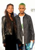 Willow Smith och Jaden Smith Arkivfoton