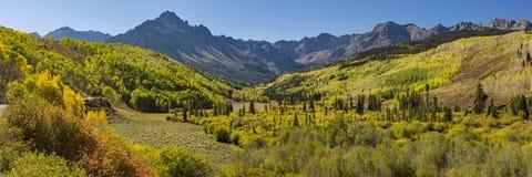 Willow Swamp Mountains Panorama stockfotos