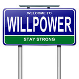 Willpower concept. Stock Image