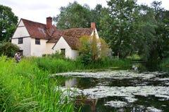 Willy Lott`s Cottage, Flatford Mill, Suffolk, UK