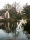 Willy lotts flatford mill cottage constable country haywain pain Stock Photos