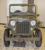 Willys CJ3B- Civic modification army Stock Photo