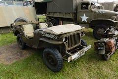Willys Jeep fotografia stock libera da diritti