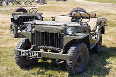 Willys Jeep Stock Foto's