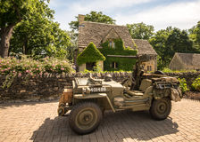 1945 Willys-Jeep Stock Afbeelding