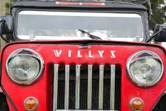 Willys Jeep Closeup Royalty Free Stock Photography