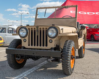 Willys Jeep at the Woodward Dream Cruise Royalty Free Stock Photo