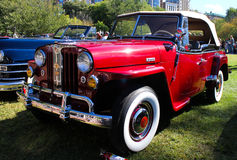 Willys Jeepster 1948 Stockfotos