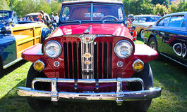 Willys Jeepster 1948 Arkivfoto