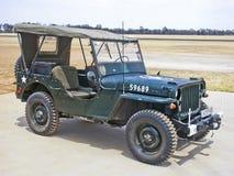 Willys MB-AMERIKANISCHE Armee-Jeep Lizenzfreie Stockfotografie