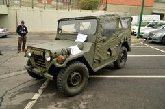 Willys MB Jeep Royalty Free Stock Photography