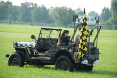 Willys MB Jeep Follow car Stock Photo