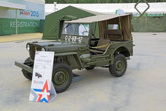 Willys MB Royalty Free Stock Photo
