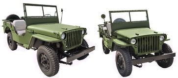 Willys MB - U.S. Army road vehicle Stock Photography