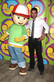 Wilmer Valderamma & Handy Manny Disney & ABC Television Group Summer Press Junket  2009 Stock Photo