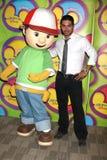 Wilmer Valderamma u. handliches Manny Disney u. ABC-Fernsehen-Gruppen-Sommer-Presse-Quark 2009 Stockfoto