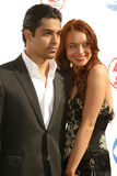 Wilmer Valderrama, Lindsay Lohan Royalty Free Stock Photos