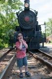 WILMINGTON, DE 15 JUIN : Wilmington et voie ferrée occidentale est une ligne de train d'héritage pour des visiteurs allant sur to photographie stock libre de droits