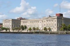 Wilmington, NC ΗΠΑ 17.2014 Ιουλίου ομοσπονδιακό δικαστήριο Στοκ Φωτογραφίες