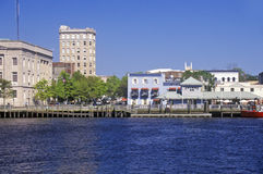 Wilmington, NC, skyline royalty free stock images