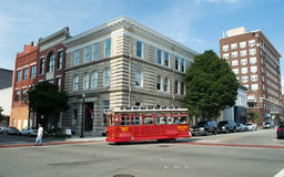 Wilmington,NC USA Aug. 17,2014 The Trolley In Wilmington, North Carolina Stock Photos