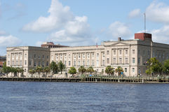 Wilmington,NC USA July 17,2014 Federal Courthouse Stock Photos
