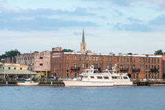 Wilmington,NC USA July 2014 Historic Downtown Stock Photo