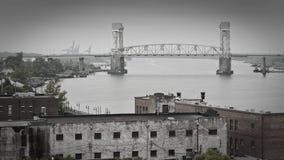 Wilmington, orilla del río del miedo del cabo del NC fotos de archivo