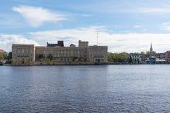 Wilmington, Pólnocna Karolina linia horyzontu zdjęcie stock