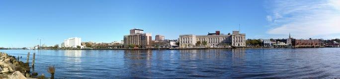 Wilmington panoramique Images libres de droits