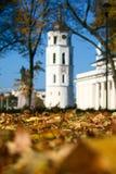 Wilno jesieni zdjęcia stock