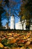 Wilno jesieni obrazy royalty free