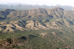 Wilpena Pound. Aerial View. Flinders Ranges National Park. Australia Royalty Free Stock Image