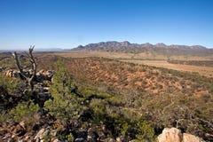 Wilpena Pound Flinders Ranges South Australia Royalty Free Stock Photos