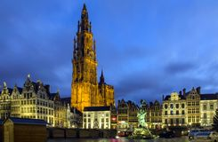 Wilrijk Antwerp, Belgien, Europa December, 26, 2015 royaltyfri fotografi