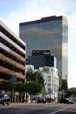 Wilshire boulevard Los Angeles fotografering för bildbyråer
