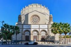 Wilshire boulevardtempel - Los Angeles, Kalifornien fotografering för bildbyråer