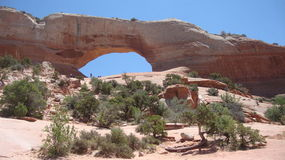 Wilson Arch, Arizona Royalty Free Stock Images
