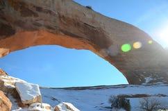 Wilson Arch in Moab, Utah Lizenzfreies Stockbild