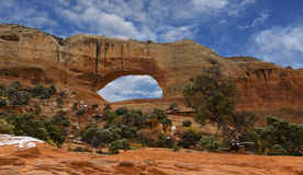 Wilson Arch Stock Images