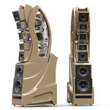 Wilson Audio WAMM Master Chronosonic in Desert Silver Finish Stock Images