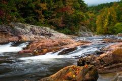 Wilson Creek Autumn 9 arkivfoton
