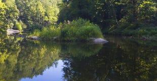 Wilson Creek island Royalty Free Stock Photos