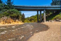 Wilson Creek, Klamath, la Californie Image libre de droits