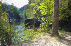 Wilson Creek overlook Stock Image
