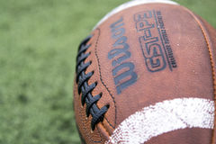 Wilson Football background stock image
