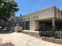 Wilson Kibler Real Estate月桂树街道的Company位于哥伦比亚, SC 免版税库存照片