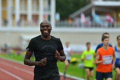 Wilson Kipketer on Znamensky Memorial 2014 Royalty Free Stock Photos