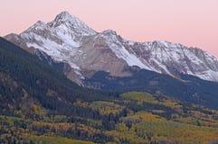 Wilson Peak at Dawn Royalty Free Stock Photography