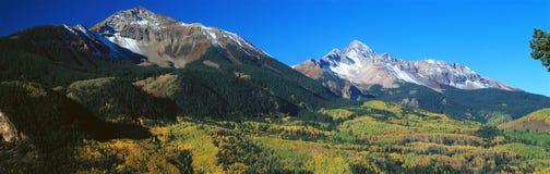 Wilson Peak, San Juan National Forest, Colorado Immagini Stock